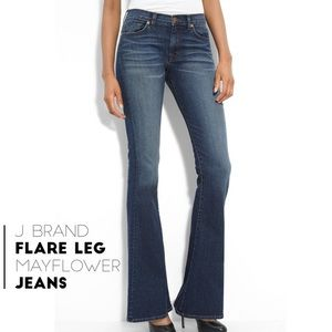 J Brand May flower flared jeans size 28